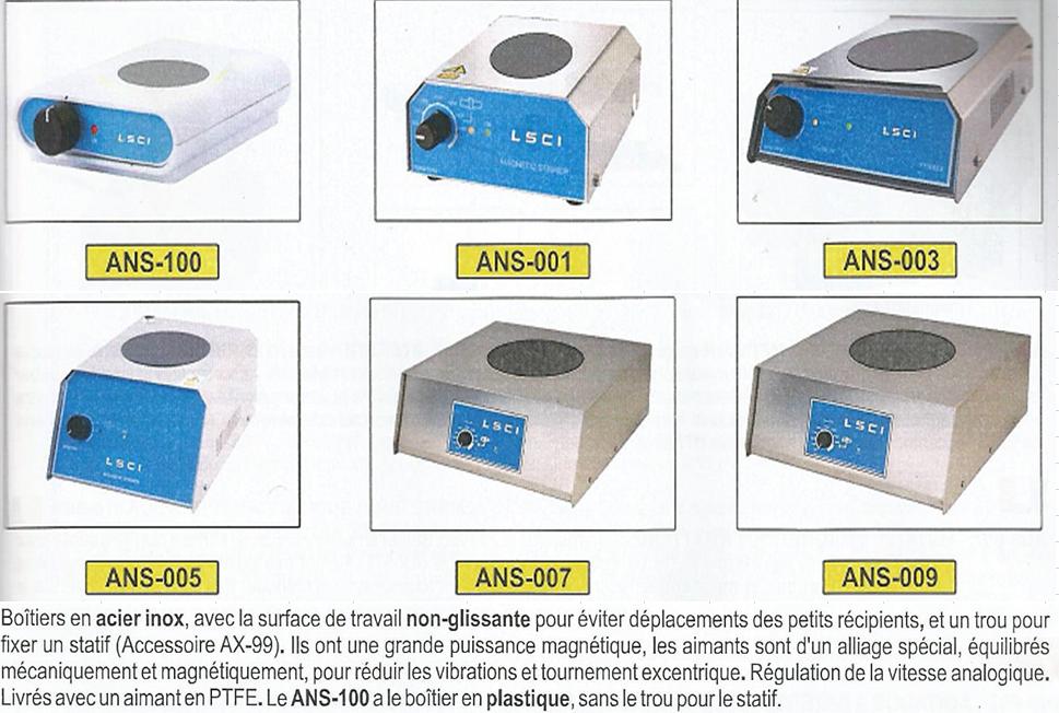 Agitateurs magnetiques 2