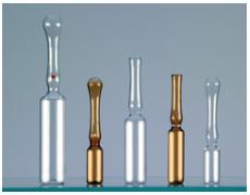 Ampoules en verre 1