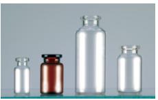 Flacons en verre tubule 1