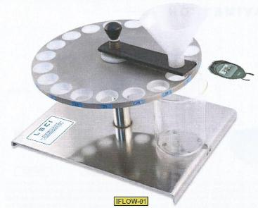 Fluidimetre pour poudres
