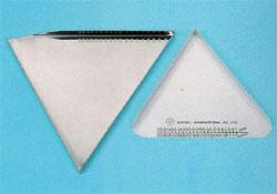Plateau triangulaire pour comprimes ronds 1