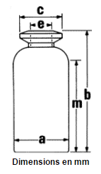 Schema flacons en verre moule 2