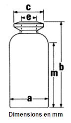Schema flacons en verre moule 3
